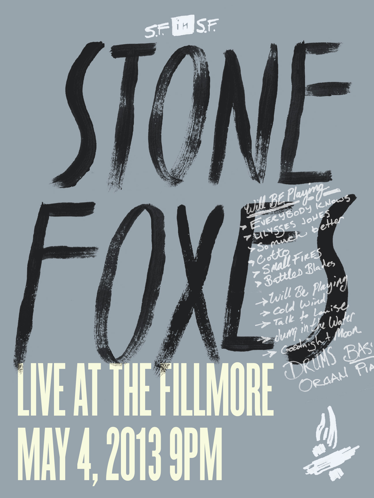 The Stone Foxes - A Homecoming Poster - image 16 - student project