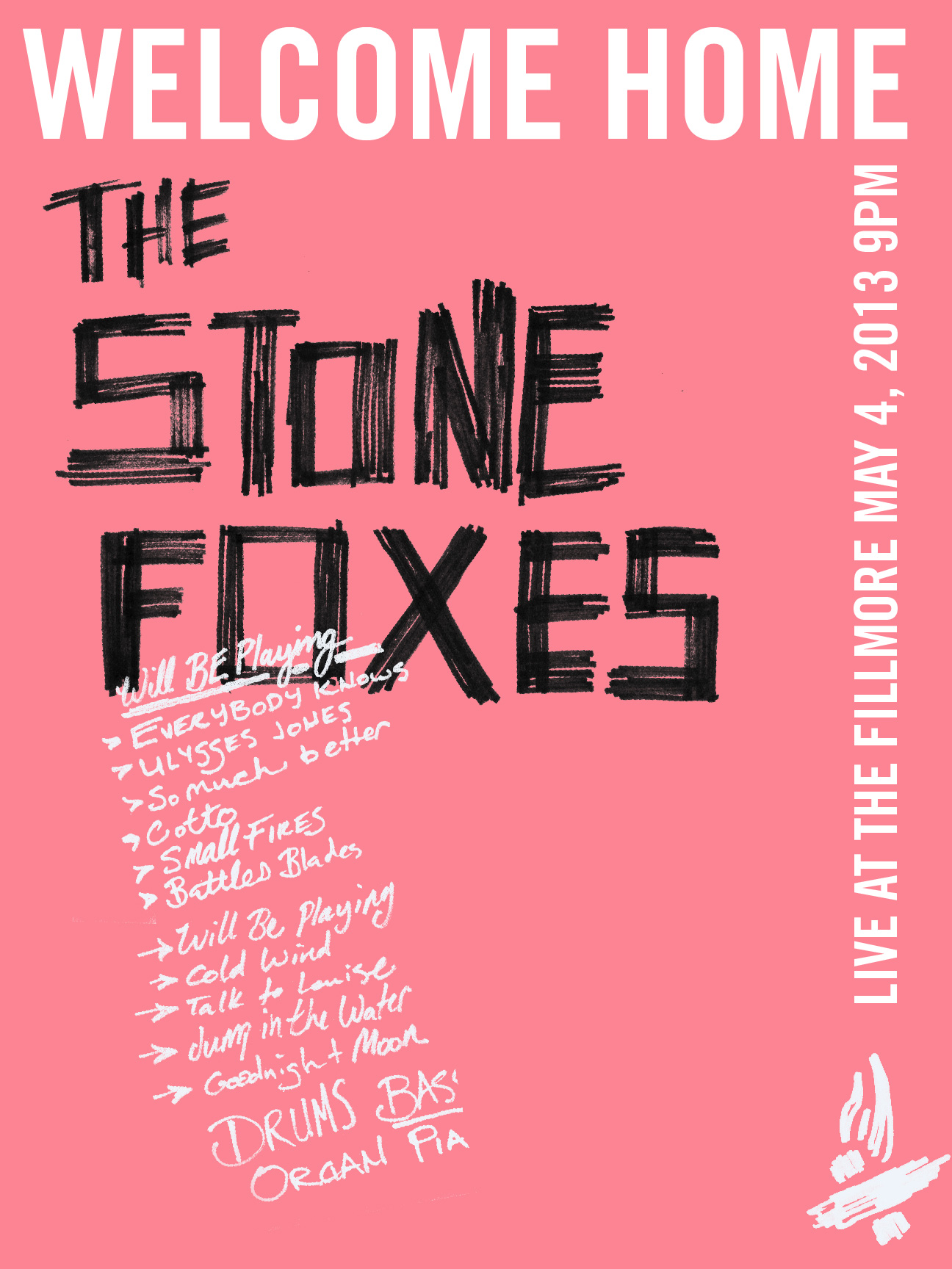 The Stone Foxes - A Homecoming Poster - image 15 - student project