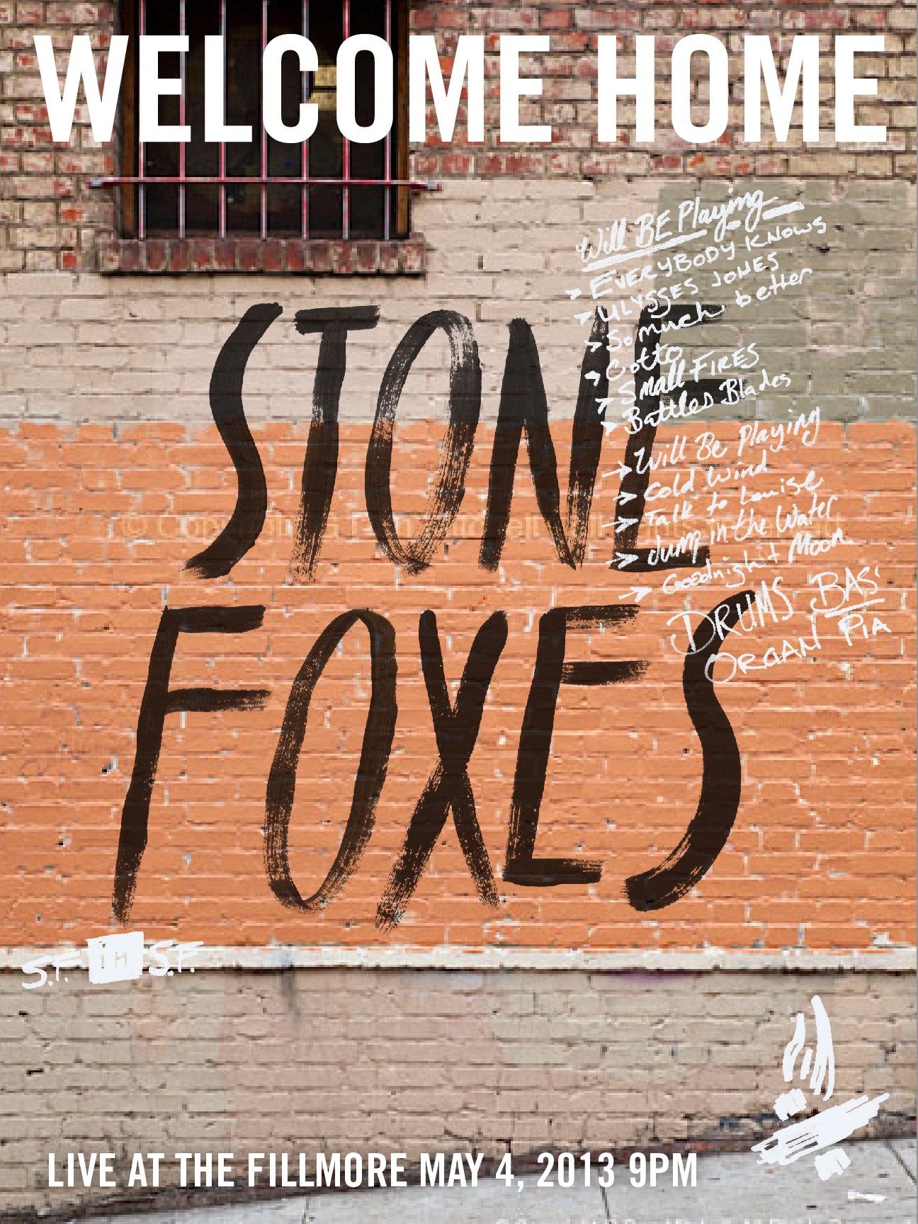 The Stone Foxes - A Homecoming Poster - image 14 - student project
