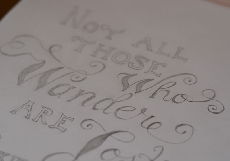 SKETCH-Tolkien's Words - image 8 - student project