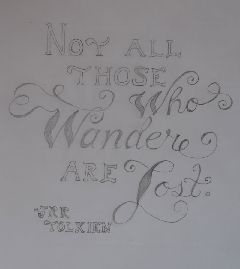 SKETCH-Tolkien's Words - image 6 - student project