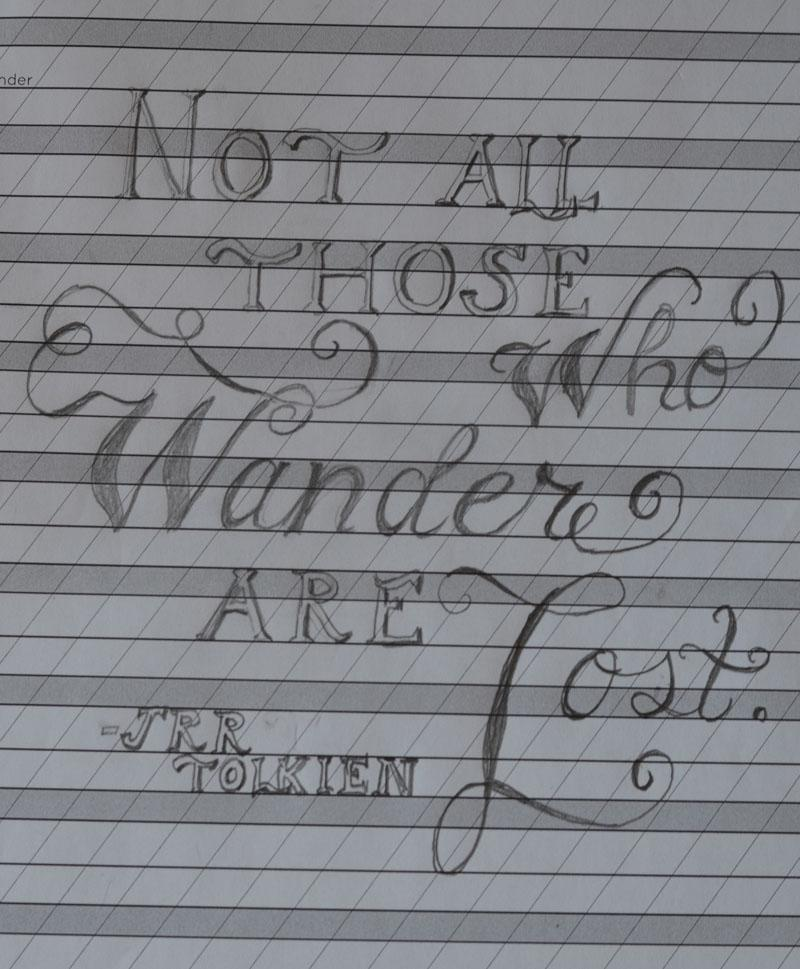 SKETCH-Tolkien's Words - image 7 - student project