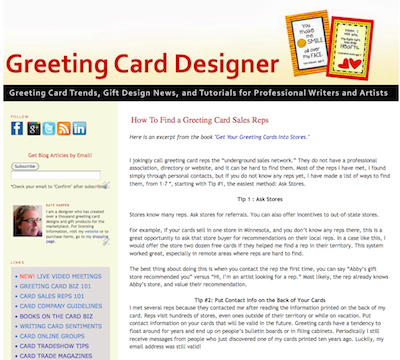The greeting card business design and sell your own cards kate 0bd2c44e m4hsunfo