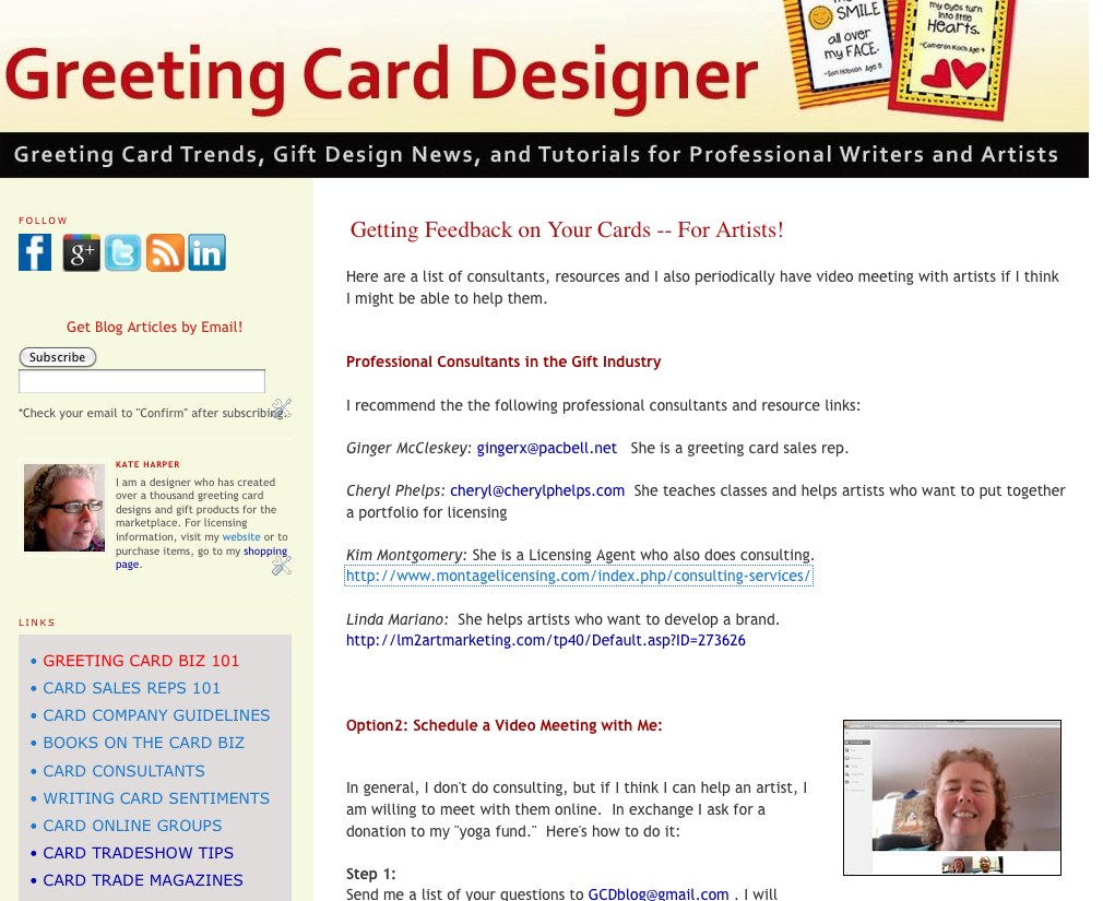 The greeting card business design and sell your own cards kate c3455821 kristyandbryce Choice Image
