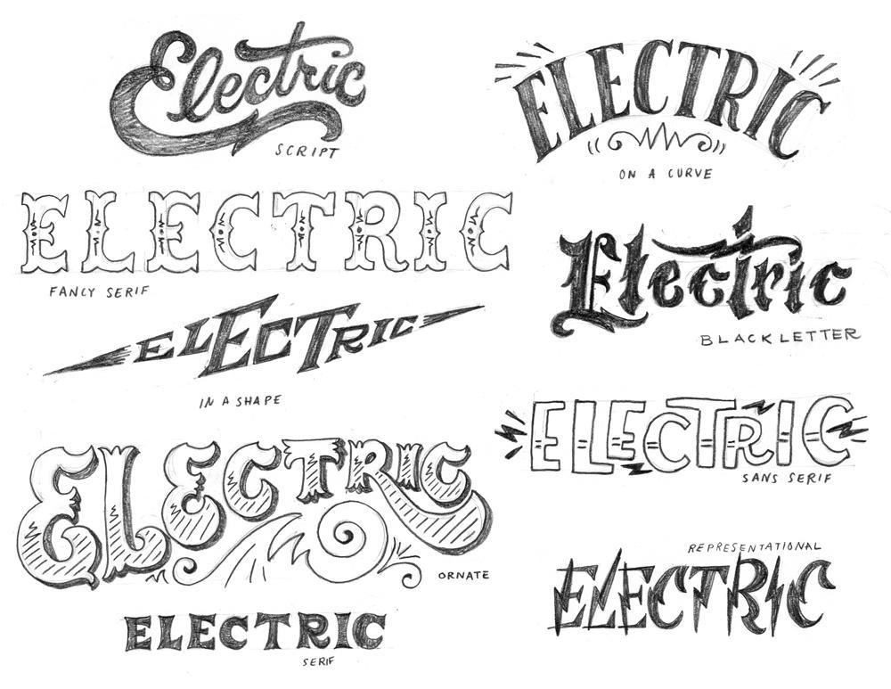 ... Steps of Hand-Lettering: Concept to Sketch (Lettering I) - Skillshare
