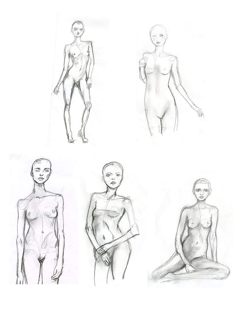 fashion drawing techniques for sketching garments danny roberts