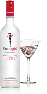 skinnygirl white cosmo bottle - Triple Threat