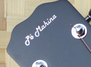 Po Mahina peghead inlay