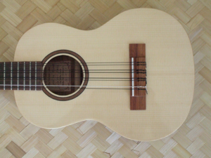 hawaiian custom ukulele, style B