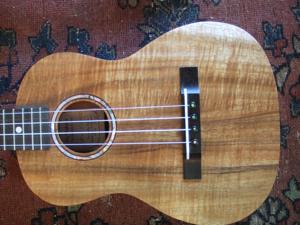 hawaiian custom ukulele, style A