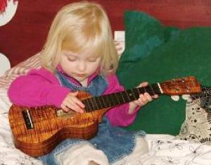 custom ukulele, style B