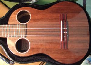custom koa ukulele