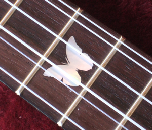 custom ukulele, inlay