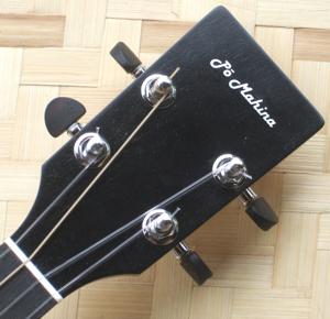 custom ukulele, peghead