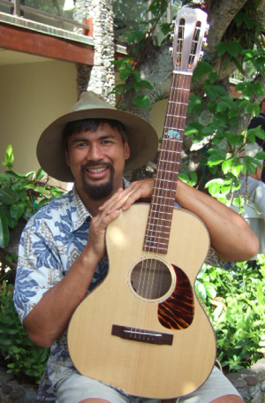 hawaiian custom guitar kaoki kahumoku