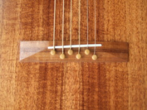 custom guitar, bridge