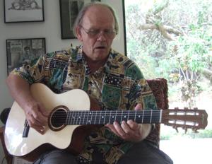custom hawaiian guitar kapania model