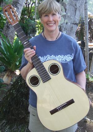 custom guitar, nylon string