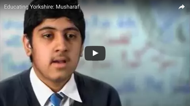 musharaf stammer educating yorkshire