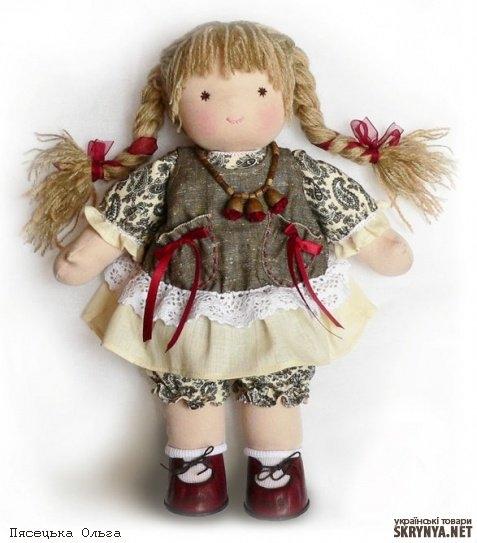 Куклы для детей своими руками
