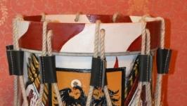Барабан маршевый ( реконструкция 16 век )
