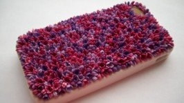 Чехол для телефона своими руками из полимерной глины 81