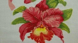 Скатертина «Орхідея» та набір серветок
