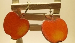 Серьги «Яблочки»