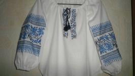 «вышиванка для девочки»