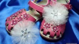 Клипсы для обуви «Снежинка»