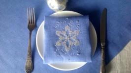 Комплект для праздничного зимнего стола «Снежинка»