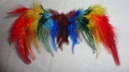 Кукольные крылья «радуга»