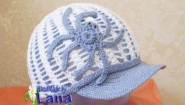 Вязанная кепка для мальчика