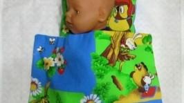 Постельное белье для большой куклы