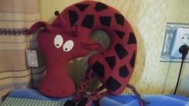 Подушка жирафа