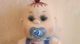 В′язана лялька Стьопка