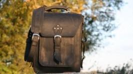 Мужской кожаный портфель,сумка