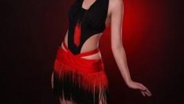 Платье латина Пламя танца