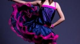 Платье для бальных танцев.Роскошь НЭПа