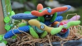 Текстильная игрушка «самолет »