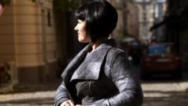 «Оттенки серого» Валяная куртка.