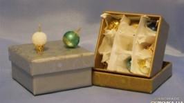 Елочные игрушки (миниатюра) 9 шт.