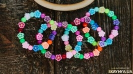 Милые цветочные браслеты