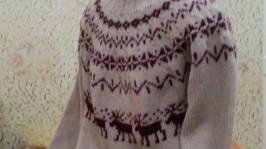 Исландский свитер (лопапейса)