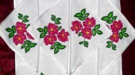 Комплект Рожеві квіти