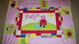 Дитяча ковдра Свинка Пеппа