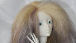 Парик для бжд куклы 14