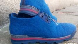 Мужские валяные туфли