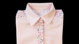 Рубашка WhitePink Foxes для девочки