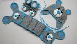 Комплект Тедди. Шапка и шарф